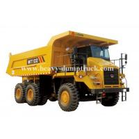Wholesale Rated load 95 tons Off road Mining Dump Truck Tipper  405kW engine power drive 6x4 with 50m3 body cargo Volume from china suppliers