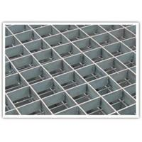 Wholesale Floor Pressure Locked Steel Grating Metal Grid Hot Galvanized Anti - Sliding from china suppliers