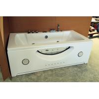 "Wholesale Large 70"" Corner Whirlpool Bathtub 2 Person Jetted Tub Built - In Heater from china suppliers"