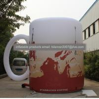 Wholesale outdoor inflatable giant advertising water mug model for sale from china suppliers