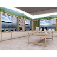 Wholesale Natural wood wall cabinet for mobile phone display and wood counters used for computer selling from china suppliers