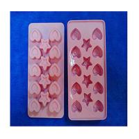Wholesale heart shape silicone ice tray mold ,custom silicone tray molds from china suppliers