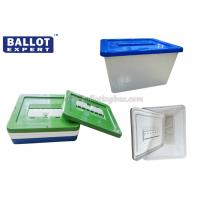 Quality Waterproof Lockable Ballot Box , Plastic Donation Box with Seal Lock For Charity for sale