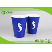 Wholesale Factory Outlets Disposable Paper Cup, Cold Drinks, 400 ml (12 oz.), Blue (package 50 each) from china suppliers