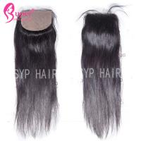 Wholesale Soft Smooth Virgin Hair Closures Silk Base Frontal Closure 100% Human Hair from china suppliers