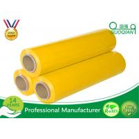 Wholesale Yellow Packaging Stretch Wrap Film PE Material For Lastic Raw Material from china suppliers