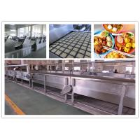 Wholesale CE ISO SGS Instant Noodle Making Machine , Automatic Noodle Machine Stainless Steel from china suppliers