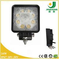 Buy cheap Classic Model Square 10-30V 1800LM 24w LED Work Light For Truck from wholesalers