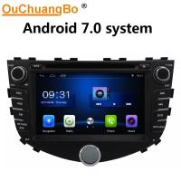Buy cheap Ouchuangbo car radio stereo multi media for JAC A30 with gps navi USB WIFI SWC 1080 video android 7.0 system from wholesalers