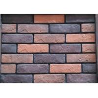 Wholesale Colored wall decoration faux exterior brick with low absorption from china suppliers