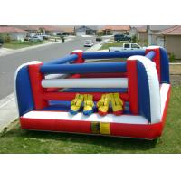 Wholesale Custom Made PVC Champion Boxing Ring Inflatable Sports Games from china suppliers