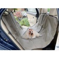 Wholesale Adjustable Pet Car Seat Covers Waterproof Simple Install OEM / ODM Acceptable from china suppliers