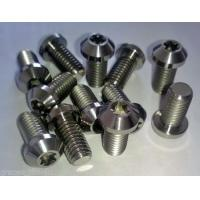 Wholesale Titanium/Alloy parts Screw/Nuts Frame caps Gr1,Gr2,Gr3,Gr4,Gr5(Ti-6AL-4V),Gr7,Gr9,Gr12, etc. from china suppliers