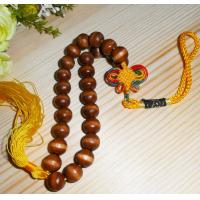 Wholesale wood beaded tag wood gift tag beads hanging decoration from china suppliers