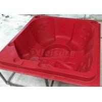 China Hand Made Acrylic Hot Tub Mold  175mm Corner Radius With Barrier - Free Seats on sale