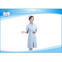 Wholesale Colored Stretch Cotton Medical Scrubs Uniforms Dress / Nurse Scrubs Suits Sets from china suppliers
