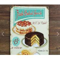 Wholesale No Fading Vintage Coffee Signs Grocery Durable Vintage Tin Beer Signs from china suppliers