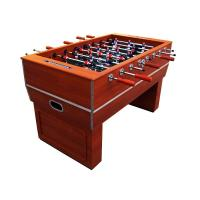 Wood Hand Grip Soccer Game Table MDF Indoor Use With Cabinet Legs CE Approved