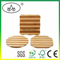 Wholesale China Bamboo Heating Pad/Placemat /Coaster/Mat for Kitchenware (LC-966P3) from china suppliers