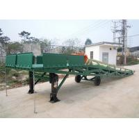 Wholesale Q235B Three Sided Mobile Dock Ramp Applied Container Loading And Unloading Cargoes from china suppliers