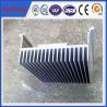 aluminium flat heat sink price per kg, china industrial profile aluminium OEM for sale
