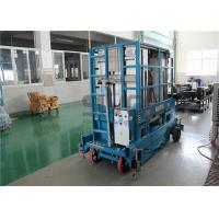 Wholesale 400kg Capacity 12 Meter Mobile Scissor Lift Platform Four Mast For Two Men from china suppliers