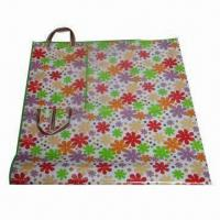 Wholesale Flower-printed Nonwoven Outdoor/Beach Mat with Lamination, Durable and Recyclable from china suppliers