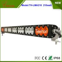 "Buy cheap 37.9"" 168000lm amber led light bar single row multi color led light bar for off from wholesalers"