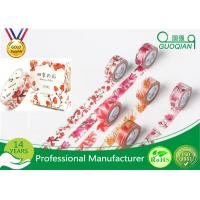 Wholesale DIY Decorative Sticky Washi Masking Tape For DIY Craft Scrapbooking from china suppliers