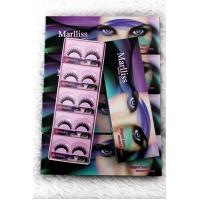High quality synthetic black false eyelash wholesale( 10pairs/box), Paypal for sale