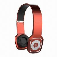 China Headset, one for two cellphones, Bluetooth V4.0, CSRBC8, Supports MP3/TF Card, EQ Function on sale