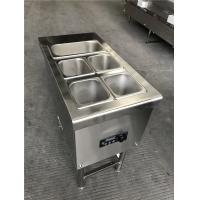 Wholesale Hot Cupboard With Bain Marie Top 5 Zone Commercial Warm Cooker For Catering from china suppliers