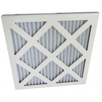 Wholesale Cardboard Frame Pleated Panel Home Pre Air Filters With Synthetic Fiber from china suppliers