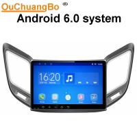 Quality Ouchuangbo 10.1 inch car audio stereo android 6.0 for Changan CS15 with 3g wifi SWC capacitance multiple touch screen for sale