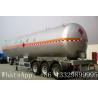 China famous leading bulk propane gas tank semitrailer for sale, hot sale best price lpg gas tank semitrailer for sale for sale
