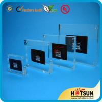 Wholesale clear acrylic picture photo frame photo frame 4x6,5x7 wholesale custom acrylic photo frame from china suppliers
