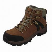 Wholesale Safety Boot with Padded Collar, Lightweight Construction Work Boot Removable EVA Footbed from china suppliers