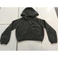 Wholesale Little Boys Black Hoodie Sweater For Winter / Autumn Fashionable Design from china suppliers