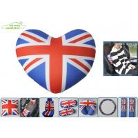 Wholesale UK Flag Neck Head Pillow Car Comfort Accessories with Heart Shaped from china suppliers