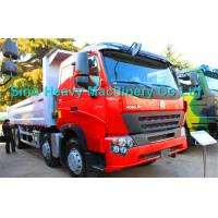 Wholesale 8x4 Heavy Duty Dump Truck for Unloading, EURO II and EURO III emission standard from china suppliers