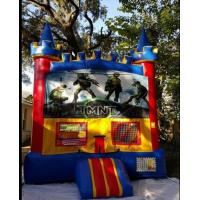Wholesale Exciting Inflatable Bouncer House , Teenage Mutant Ninja Turtles Bouncer from china suppliers