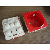 Wholesale France Electric Power Sockets , French Electrical Outlet With Two Round Pin from china suppliers