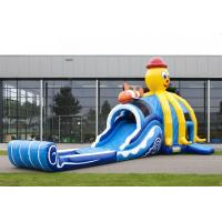 Wholesale Customized Big Commercial Bounce House Slide Combo PVC Tarpaulin from china suppliers