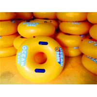 China Kids Round Swimming Pool Floats / Indoor Inflatable Swimming Ring on sale