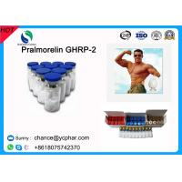 Wholesale High Purity Human Muscle Building Injection Peptides Pralmorelin GHRP-2/GHRP2,3,1 CAS158861-67-7 from china suppliers
