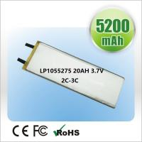 Wholesale Lion Polymer Battery 2500mAh  3.7V Cells For Small Medical Device from china suppliers