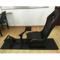 Wholesale Adjustable Folding Racing Simulator Seat With Support of Steering Wheel+Pedal+Sh 1012B from china suppliers