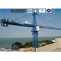 Buy cheap New design fixed type 8t QTZ100(6010) Tower Crane for building from wholesalers