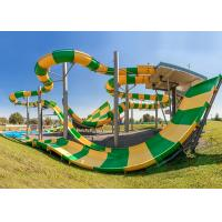 China Anti - Static Water Park Slide High Mechanical Strength For Sports Park on sale