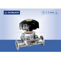 Buy cheap 1 inch - 4 inch 316L Manual or Pneumatic Sanitary Diaphragm Valve with EPDM PTFE from wholesalers